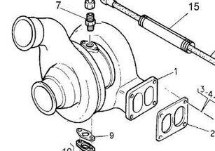 Turbo Renault Magnum E.TECH 480.18T (5010437727) turbocompresor para motor para RENAULT Magnum E.TECH 480.18T tractora