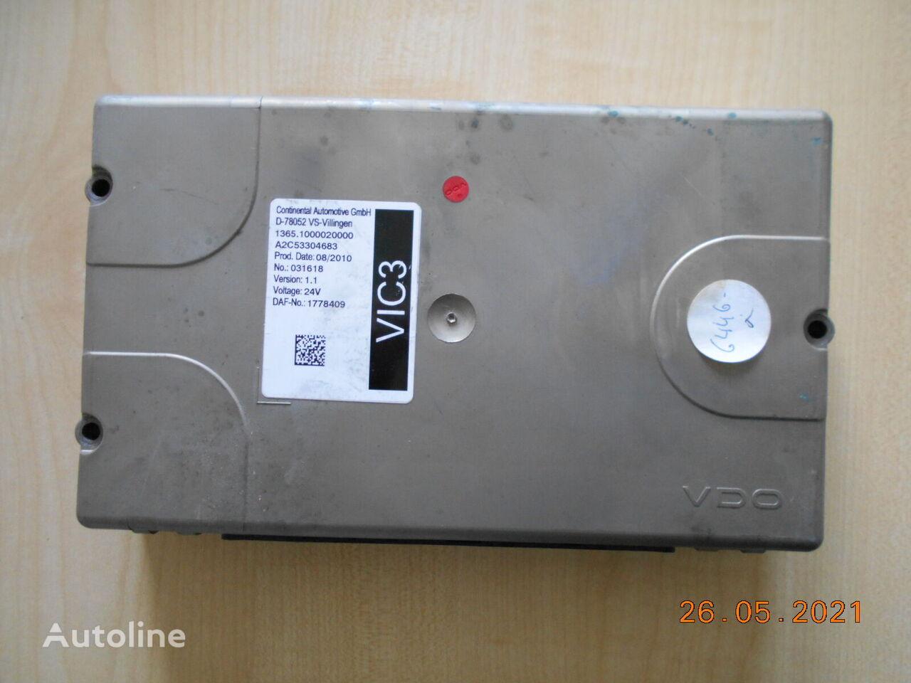 DAF STEROWNIK VIC 3 1.1 unidad de control para DAF XF 105 tractora
