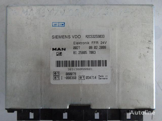 MAN FFR (WORLDWIDE DELIVERY) (81258057083) unidad de control para MAN TGX tractora