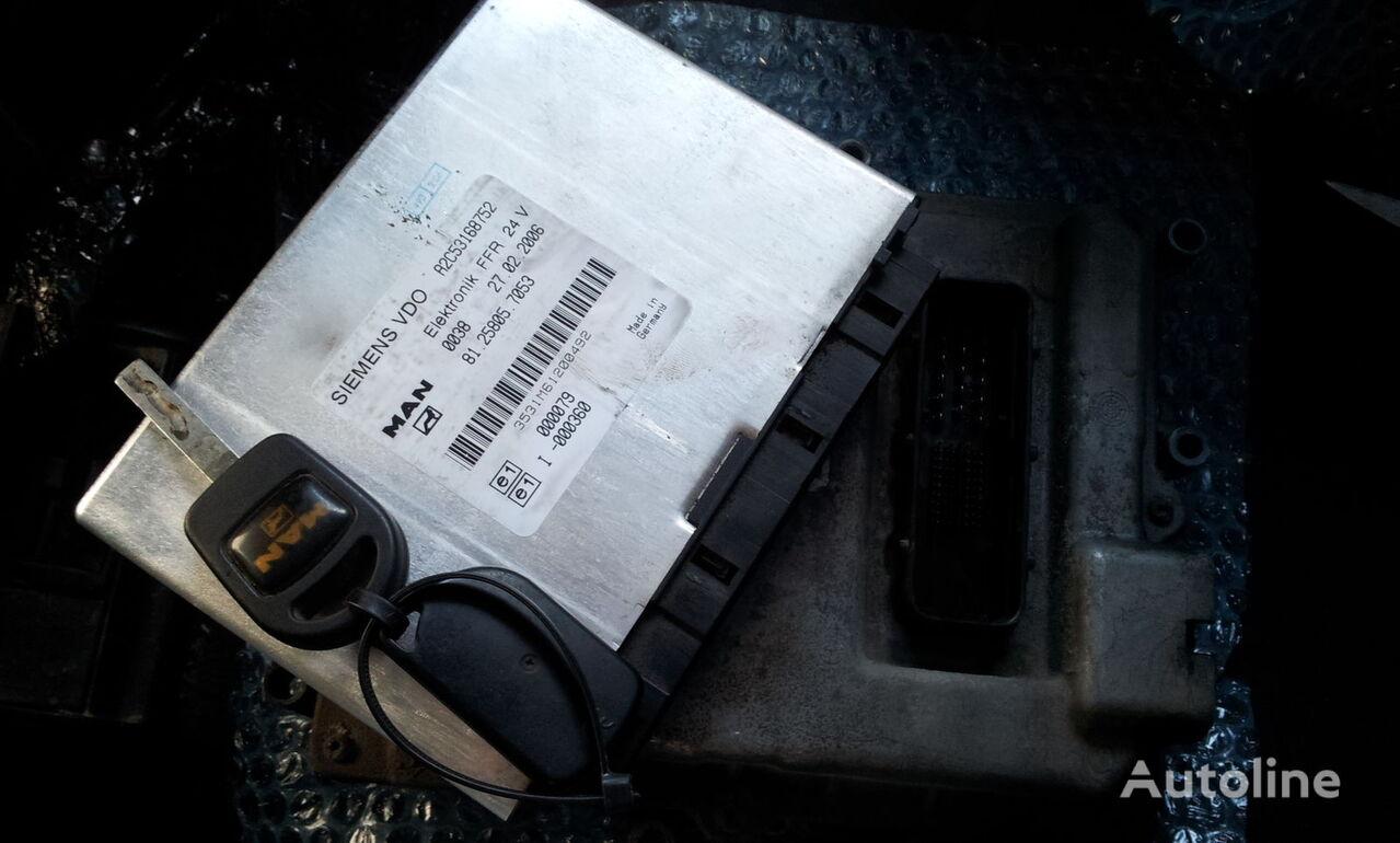 MAN TGA, TGX ignition set >>>>> BOSCH 0281010255 + FFR + chip key, E unidad de control para MAN TGA tractora