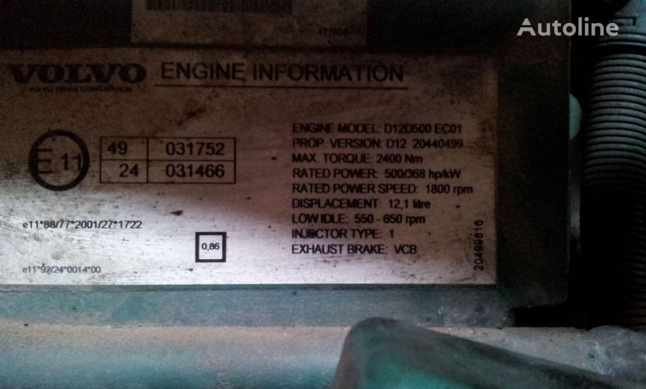 VOLVO FH12 D12D engine control unit, ECU, EDC, D unidad de control para VOLVO FH12 tractora