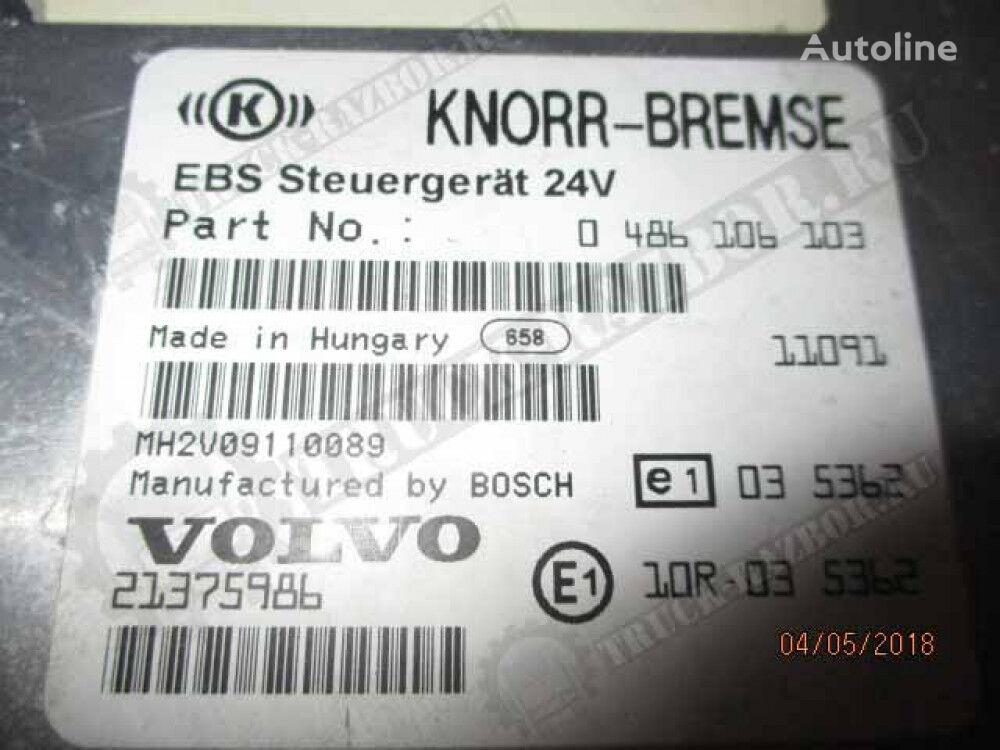 blok EBS (21375986) unidad de control para VOLVO tractora