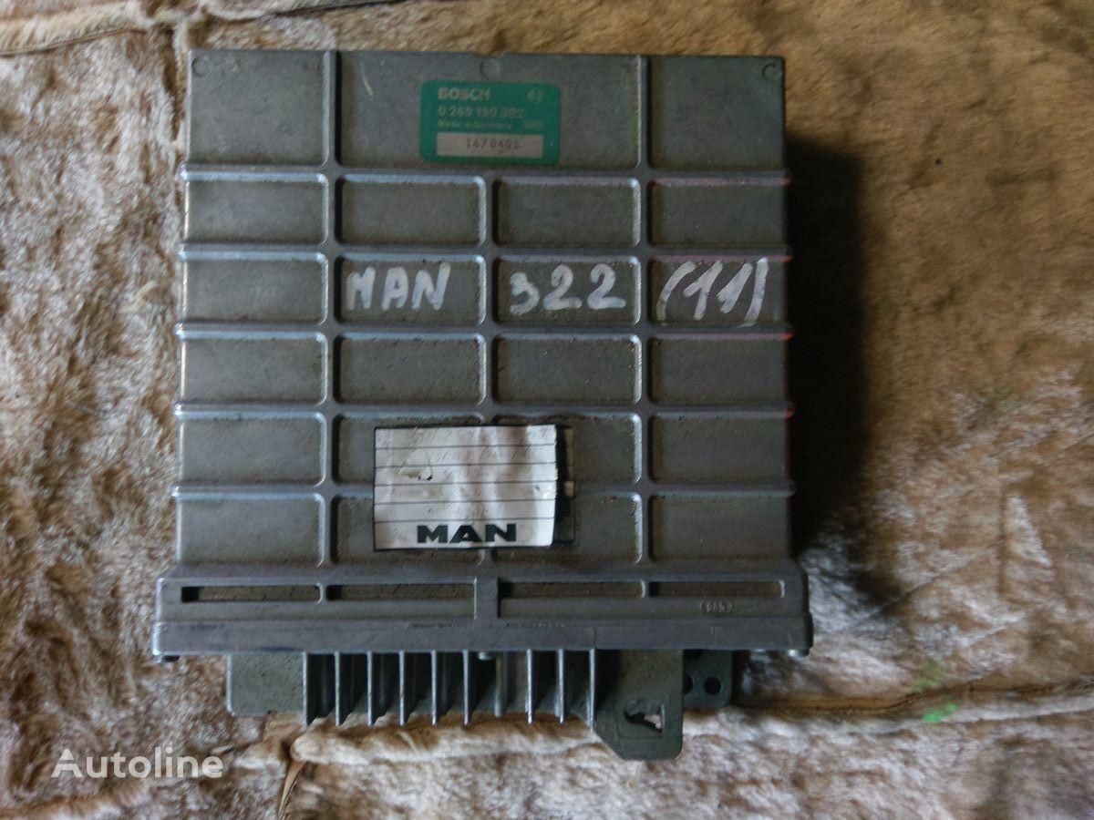 BOSCH 1670401 (0265150302) unidad de control para MAN tractora