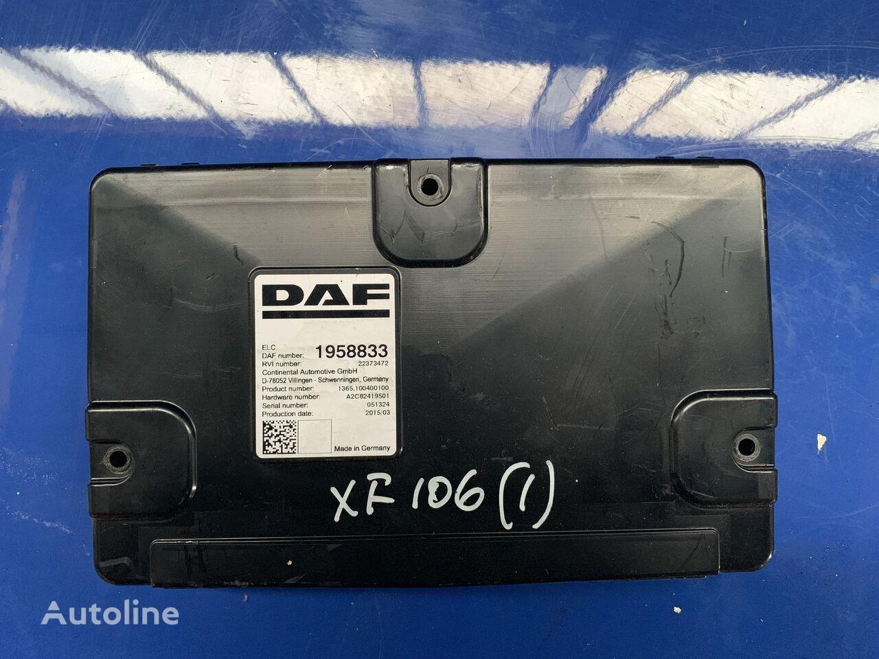 DAF (1958833) unidad de control para DAF XF 106 tractora