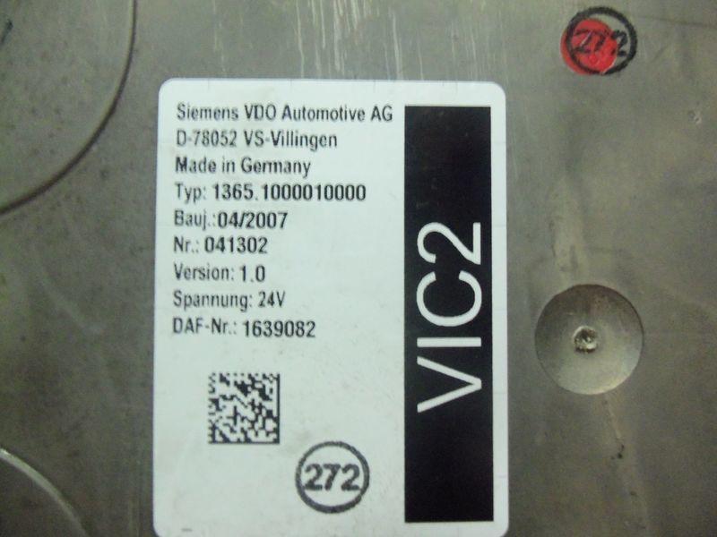 DAF VIC2 electronic control unit 1639082 unidad de control para DAF 105XF tractora