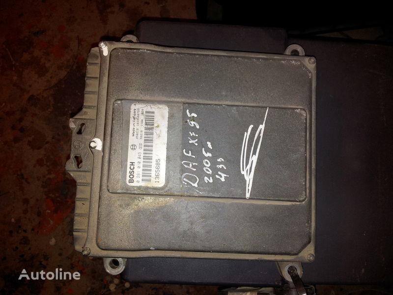 DAF 95XF, 85LF, 75LF, EURO3 ECU EDC engine control BOSH 0281010045; 1365685, 1684367, 1679021 unidad de control para DAF 95XF tractora