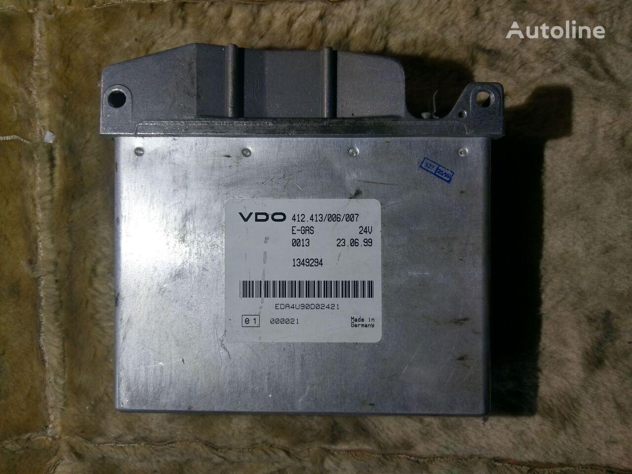DAF VDO E-GAS 412.413/006/007 1349294 (0013 000021) unidad de control para DAF XF  tractora