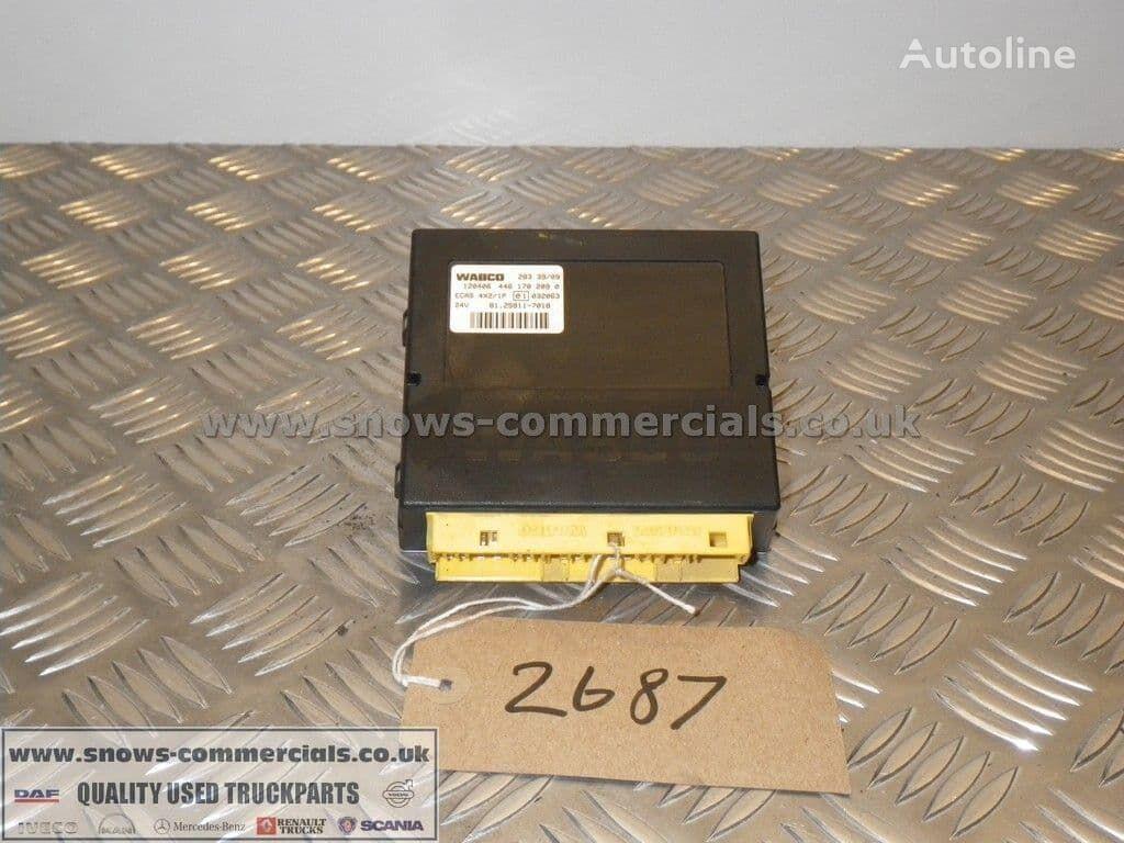 ECAS ECU (81.25811-7018) unidad de control para MAN  TGS  camión