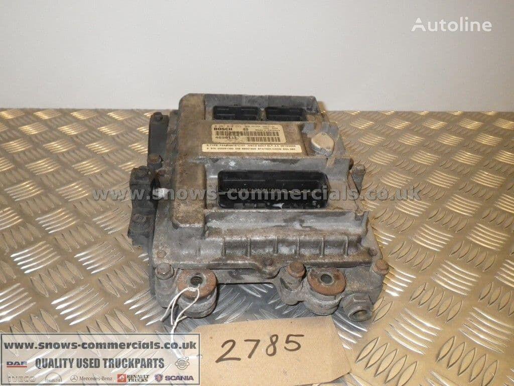 Engine ECU 4898111 Iveco 6 cylinder F4AE0681E unidad de control para IVECO camión