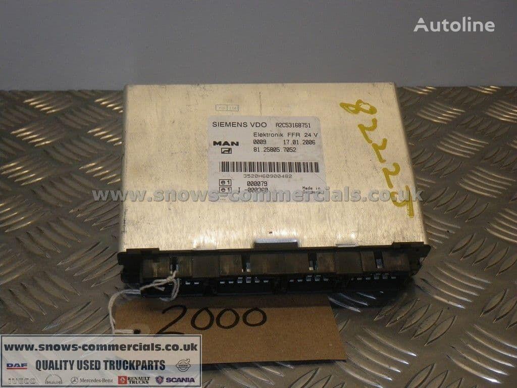 FFR ECU (81.25805-7052) unidad de control para MAN TGL camión