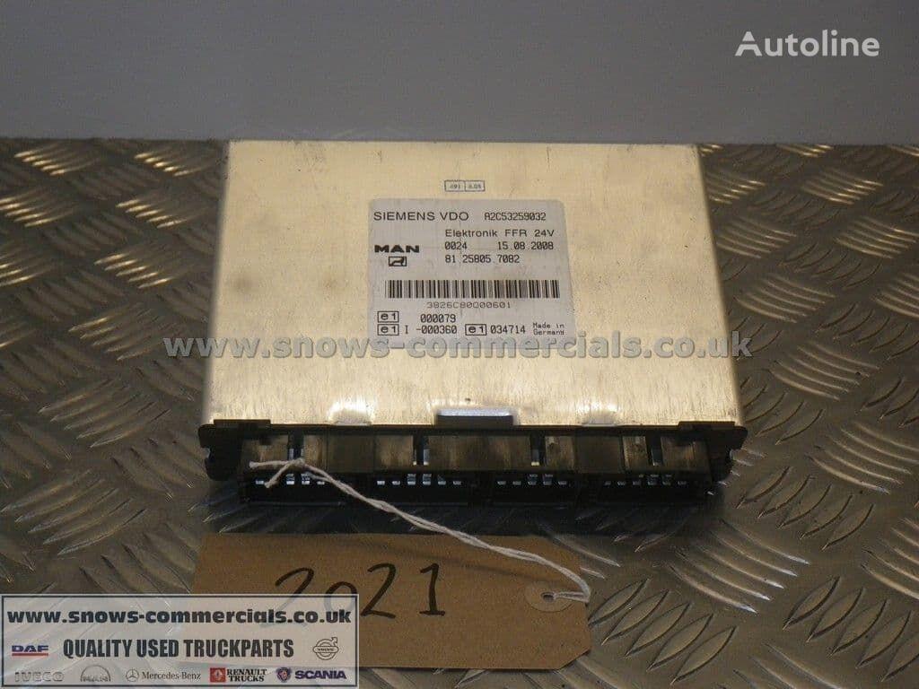 FFR ECU (81.25805-7082) unidad de control para MAN  TGL camión