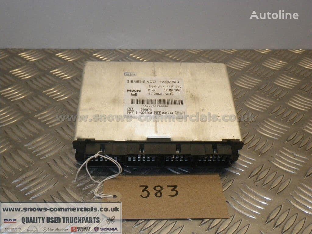 FFR Unit (81.25805-7084) unidad de control para MAN TGM camión