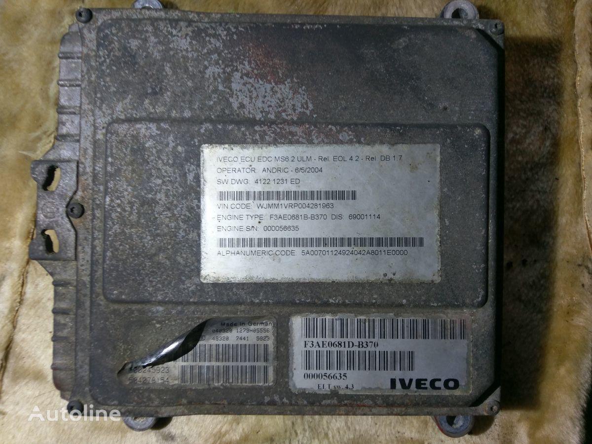IVECO BOSCH 0281001527 000245923 505078154 unidad de control para tractora