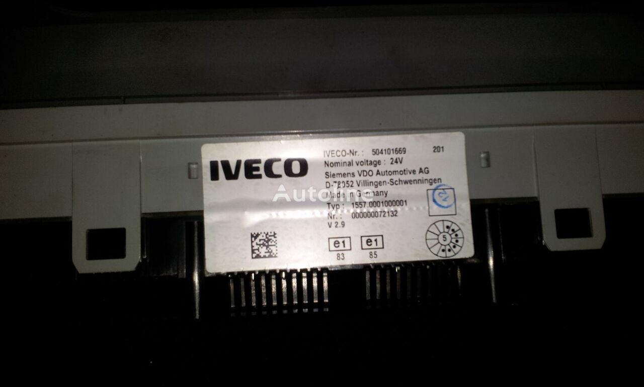 IVECO intrument panel, dash board, kombination kit, 504101669, 5041561 unidad de control para IVECO Stralis tractora