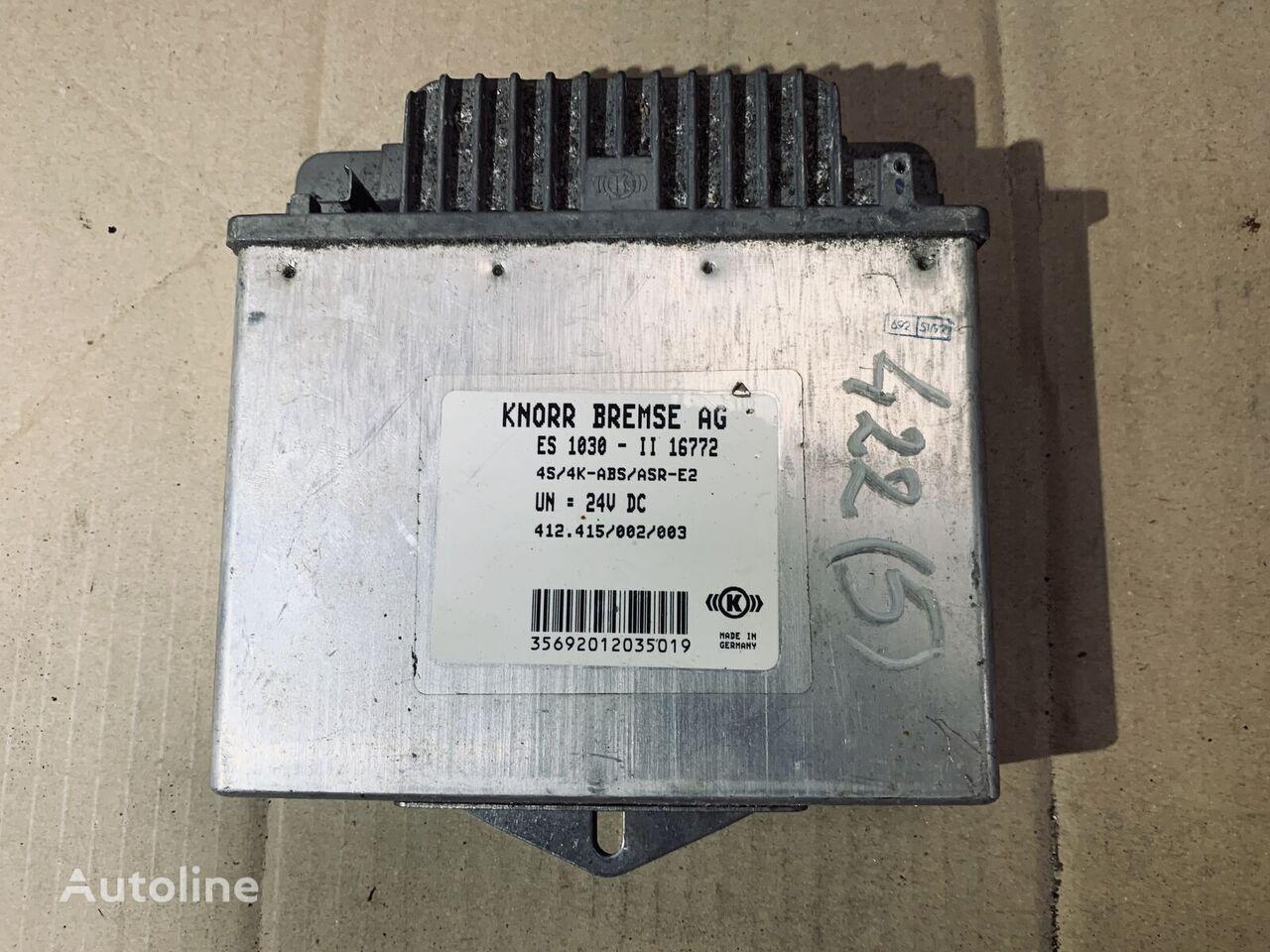 KNORR-BREMSE (412.415/002/003) unidad de control para camión
