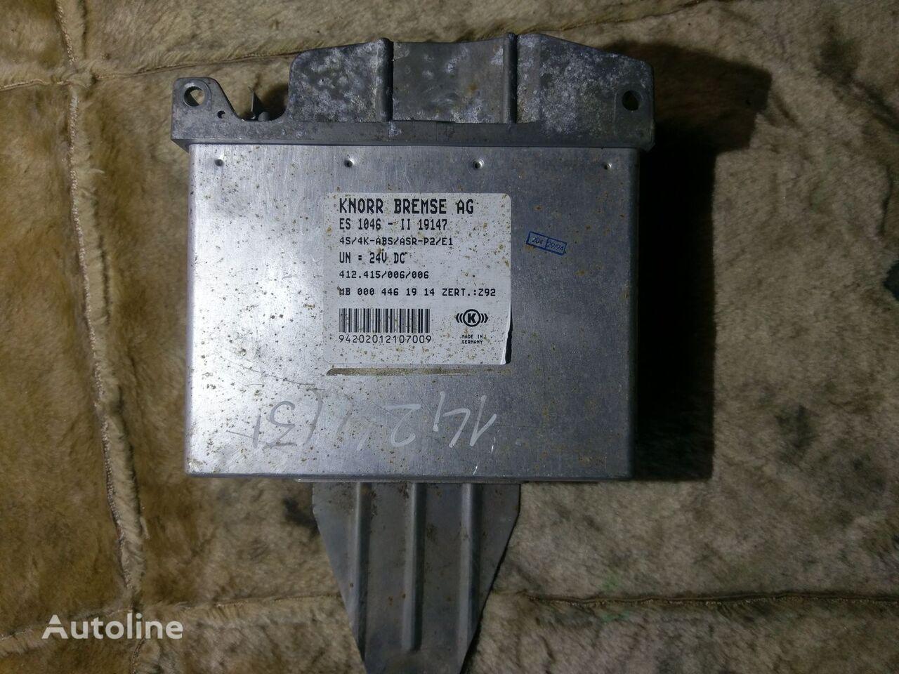KNORR-BREMSE 412.415/006/006 0004461914 4S/4K ABS/ASR unidad de control para tractora
