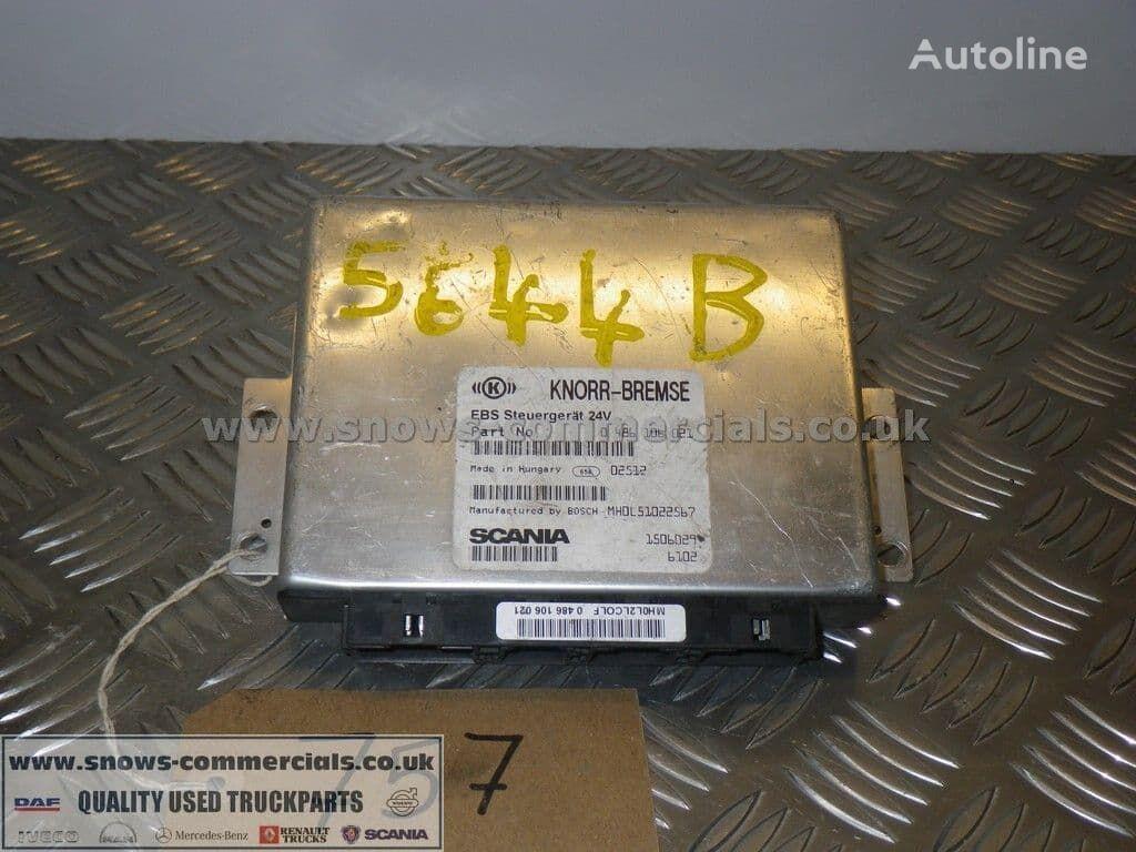 KNORR-BREMSE EBS ECU (1506029) unidad de control para SCANIA 114 124 & 164 2003-2004 camión