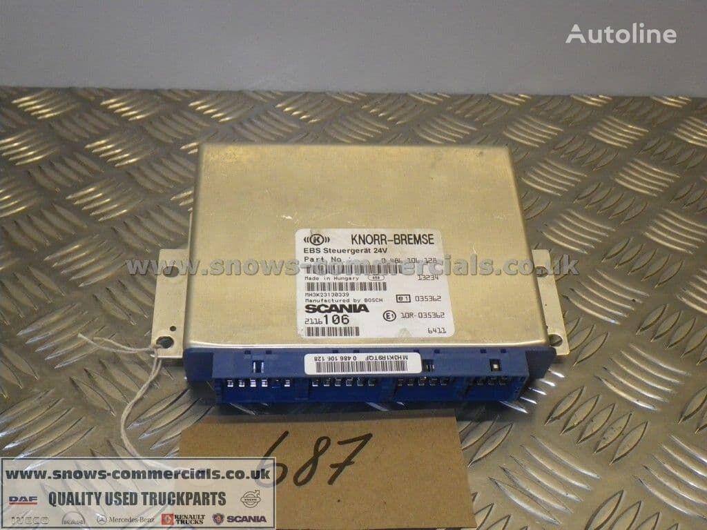 KNORR-BREMSE EBS ECU (2116106) unidad de control para SCANIA P280  camión