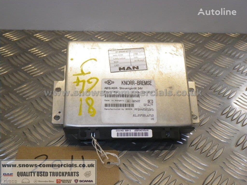 KNORR-BREMSE ECU (81.25935-6710) unidad de control para MAN camión