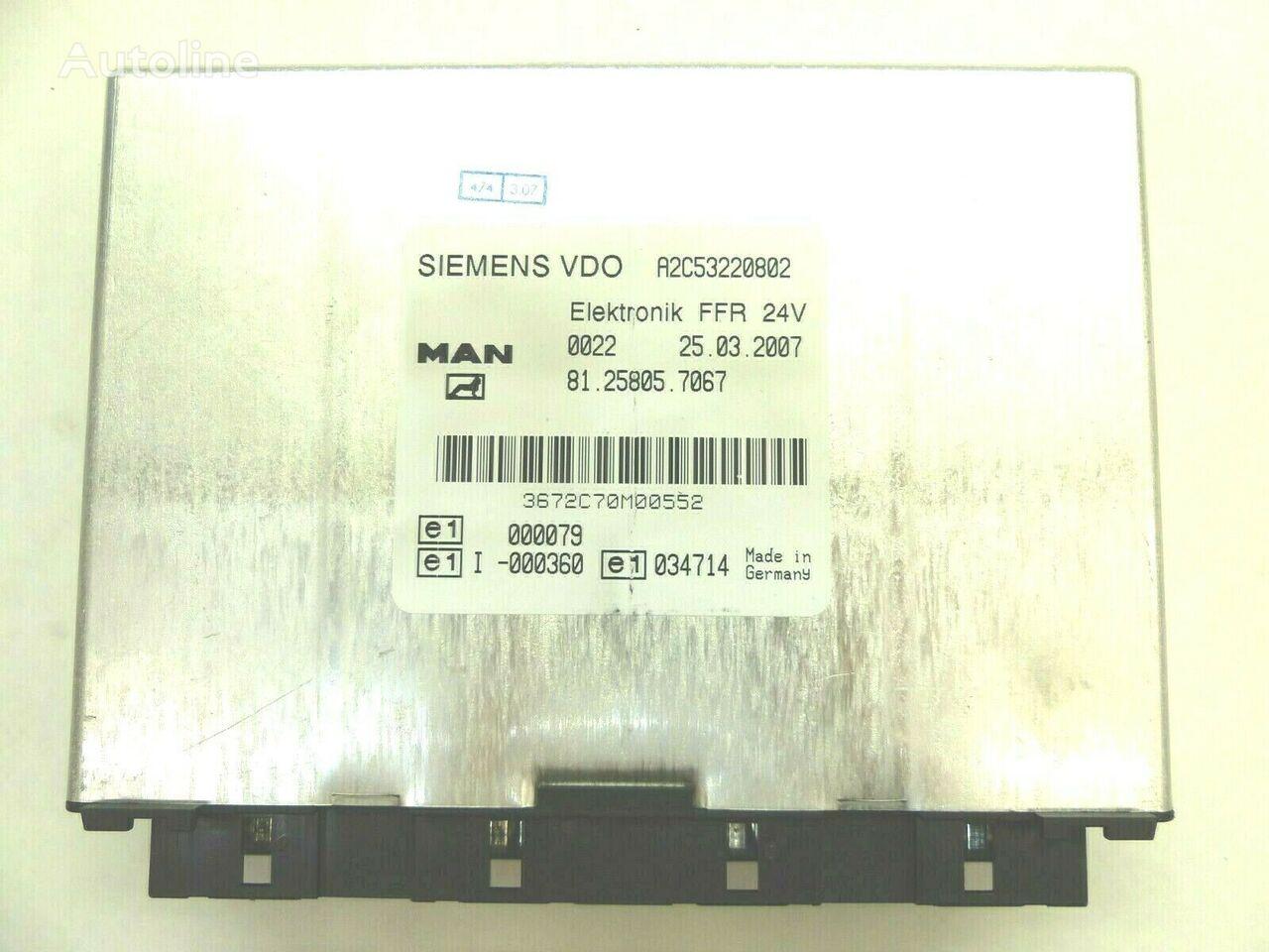 MAN (81.25805.7067) unidad de control para MAN  TGL camión