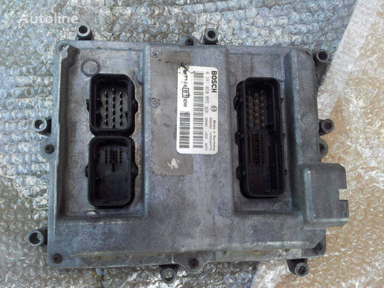 MAN Common Rail EDC, ECU electronic diesel control 0281020055, D2066 unidad de control para MAN TGA tractora