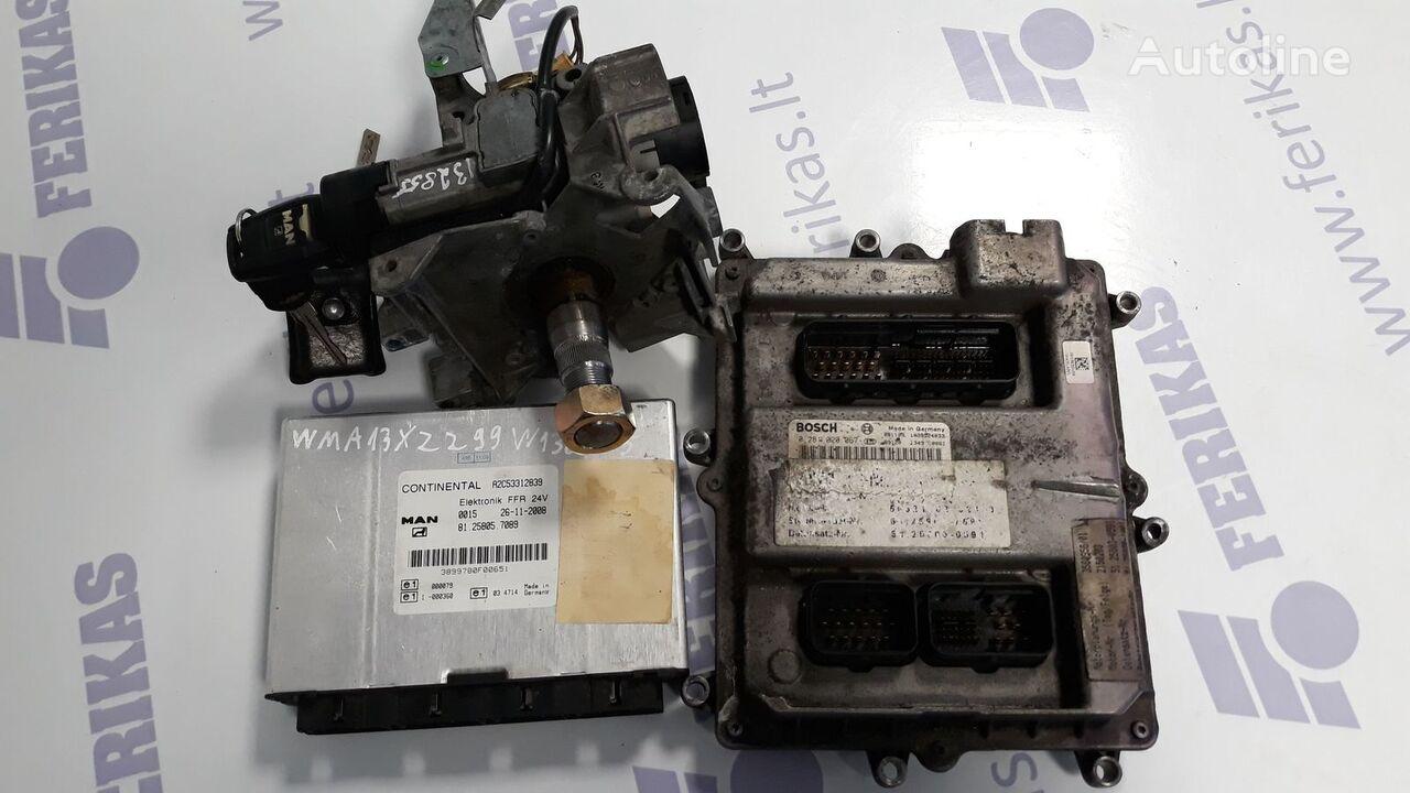 ECU complete set with FFR and ignition with key ( WORLDWIDE unidad de control para MAN TGX tractora