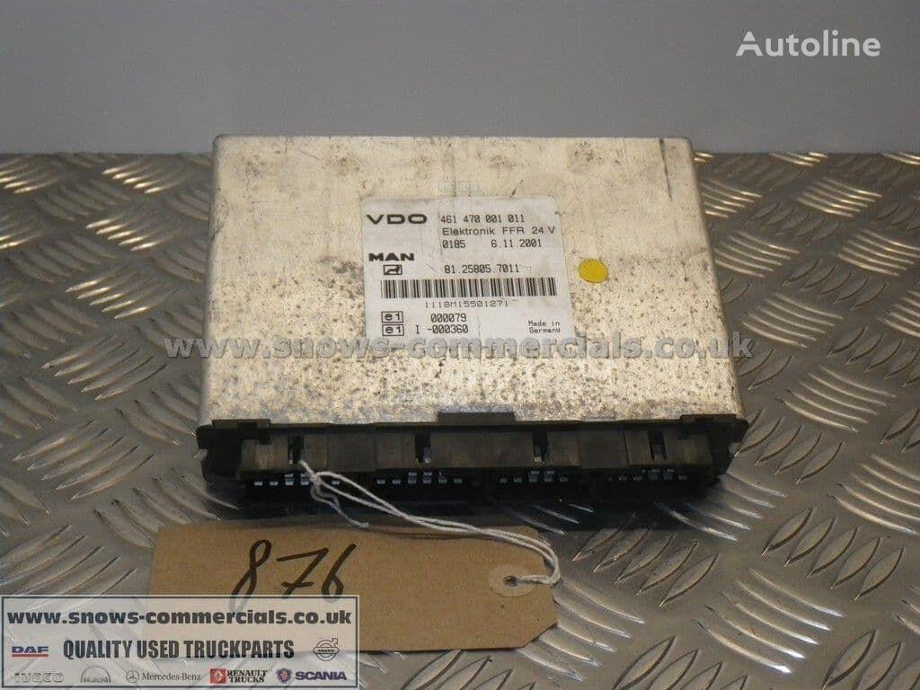 MAN FFR ECU (81.25805-7011) unidad de control para MAN TGA 2002 camión