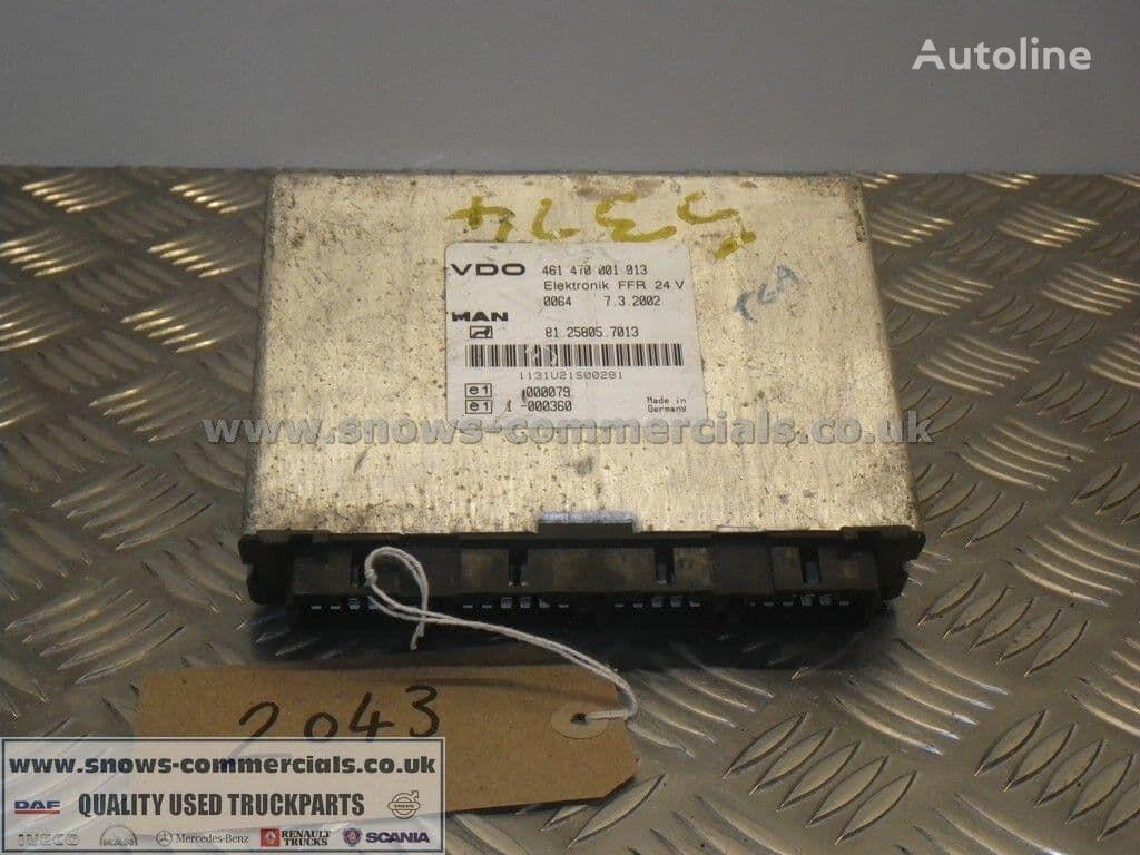 MAN FFR ECU (81.25805-7013) unidad de control para MAN TGA camión