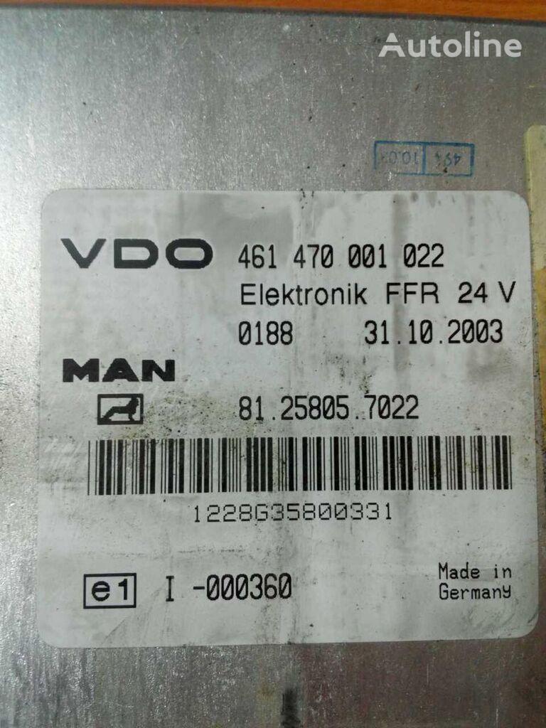 MAN FFR VDO unidad de control para MAN TGA camión