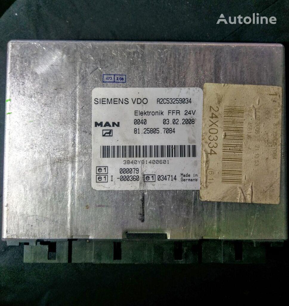 MAN SIEMENS VDO Elektronik FFR A2C53259034 81.25805.7084 unidad de control para MAN TGX tractora