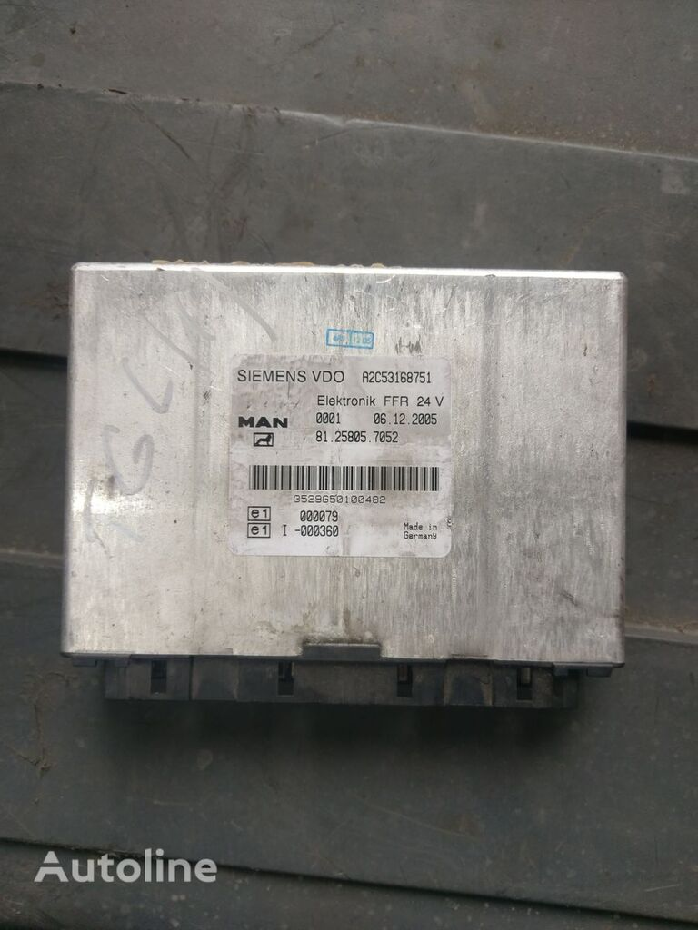 MAN TGL SIEMENS VDO Elektronik FFR unidad de control para tractora
