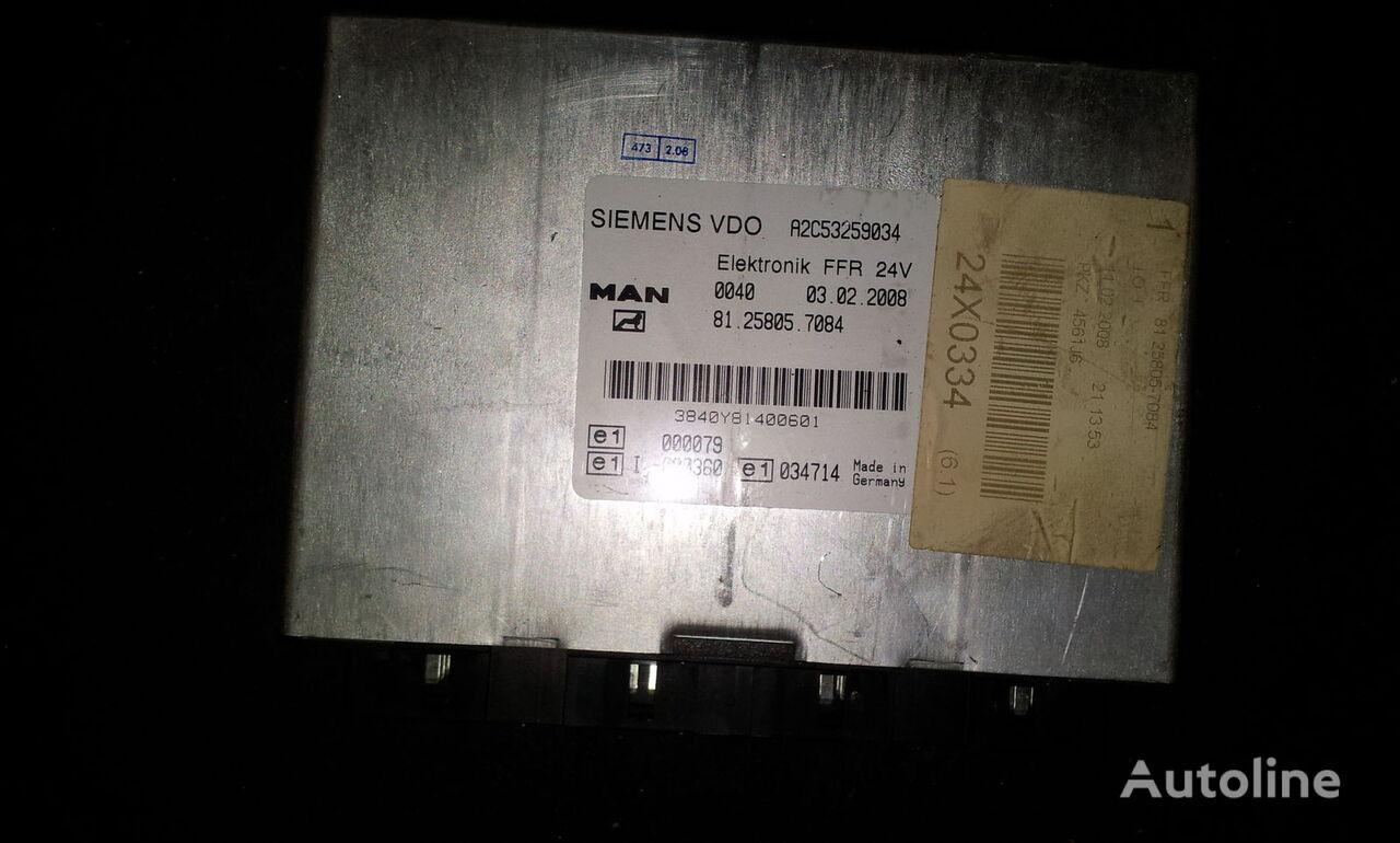 MAN FFR control unit, ECU, 81258057084, Siemens VDO, 81258057084, 81258057088, 81258057081, 81258057082, 81258057083, 81258057084, 81258057087, 81258057089, 81258057088 unidad de control para MAN TGX tractora