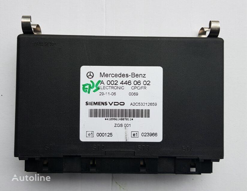 MERCEDES-BENZ CPC/FR (0024460602) unidad de control para MERCEDES-BENZ Actros camión