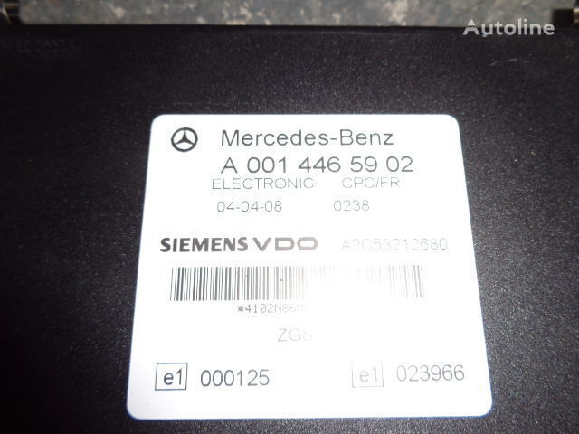 MERCEDES-BENZ MP2, MP3, MP4, FR control unit ECU 0014465902, 0004461346 unidad de control para MERCEDES-BENZ Actros tractora