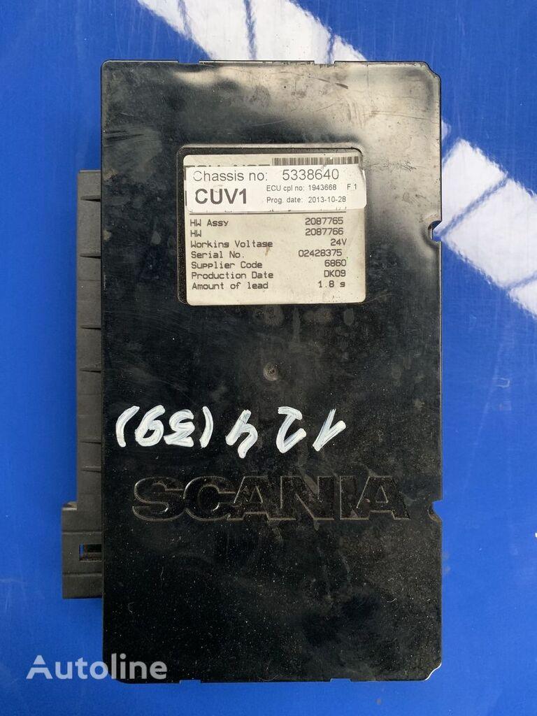 SCANIA 124 CUV1 ECU 5338640 1943668 2087765 unidad de control para tractora