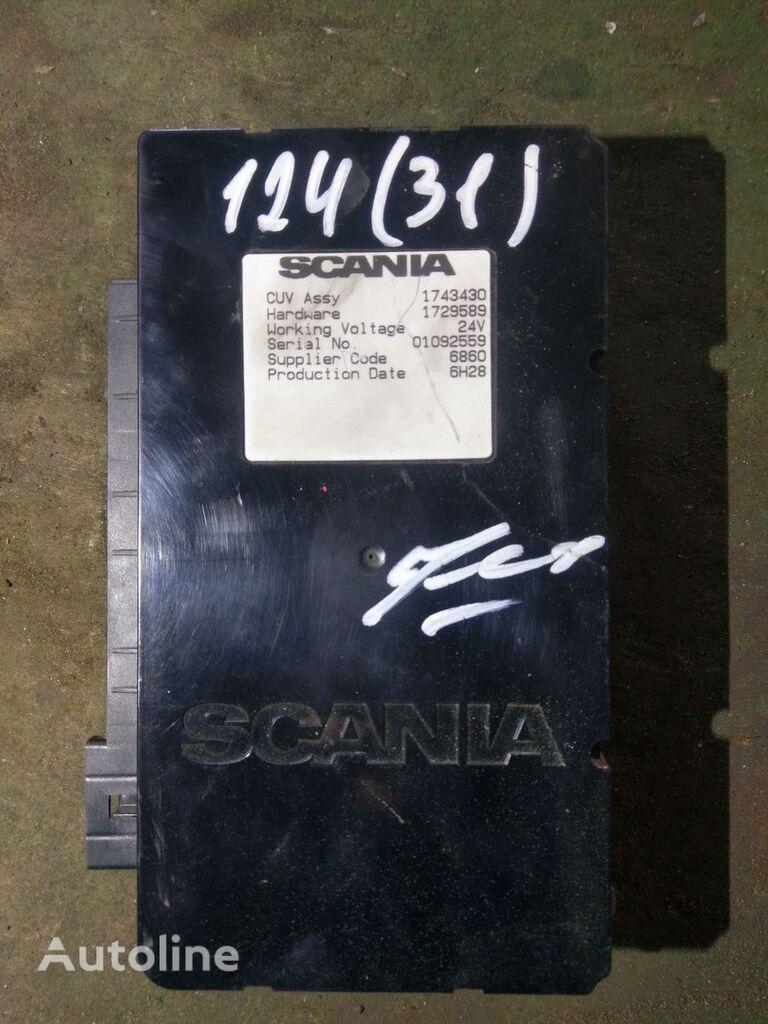 SCANIA CUV ASSY (1743430 1729589) unidad de control para tractora