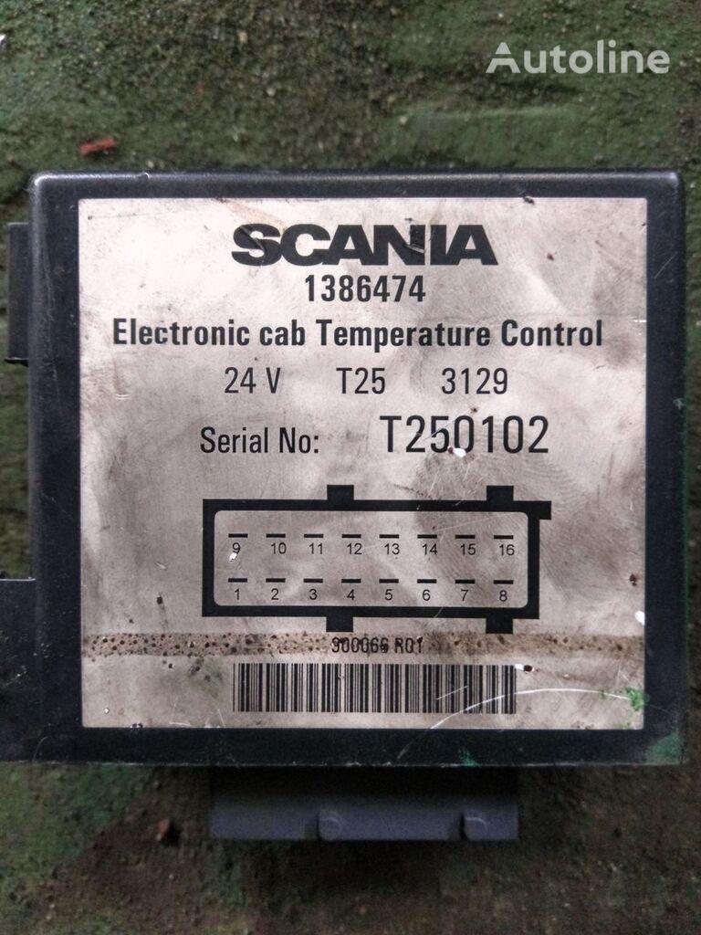 unidad de control SCANIA Eletronic cab Temperature Control 1386474 para tractora