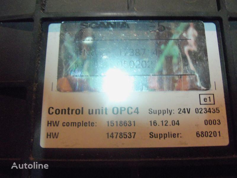 SCANIA OPC4 Control unit 1731140, 1750167, 17514664, 1754669, unidad de control para SCANIA R series tractora