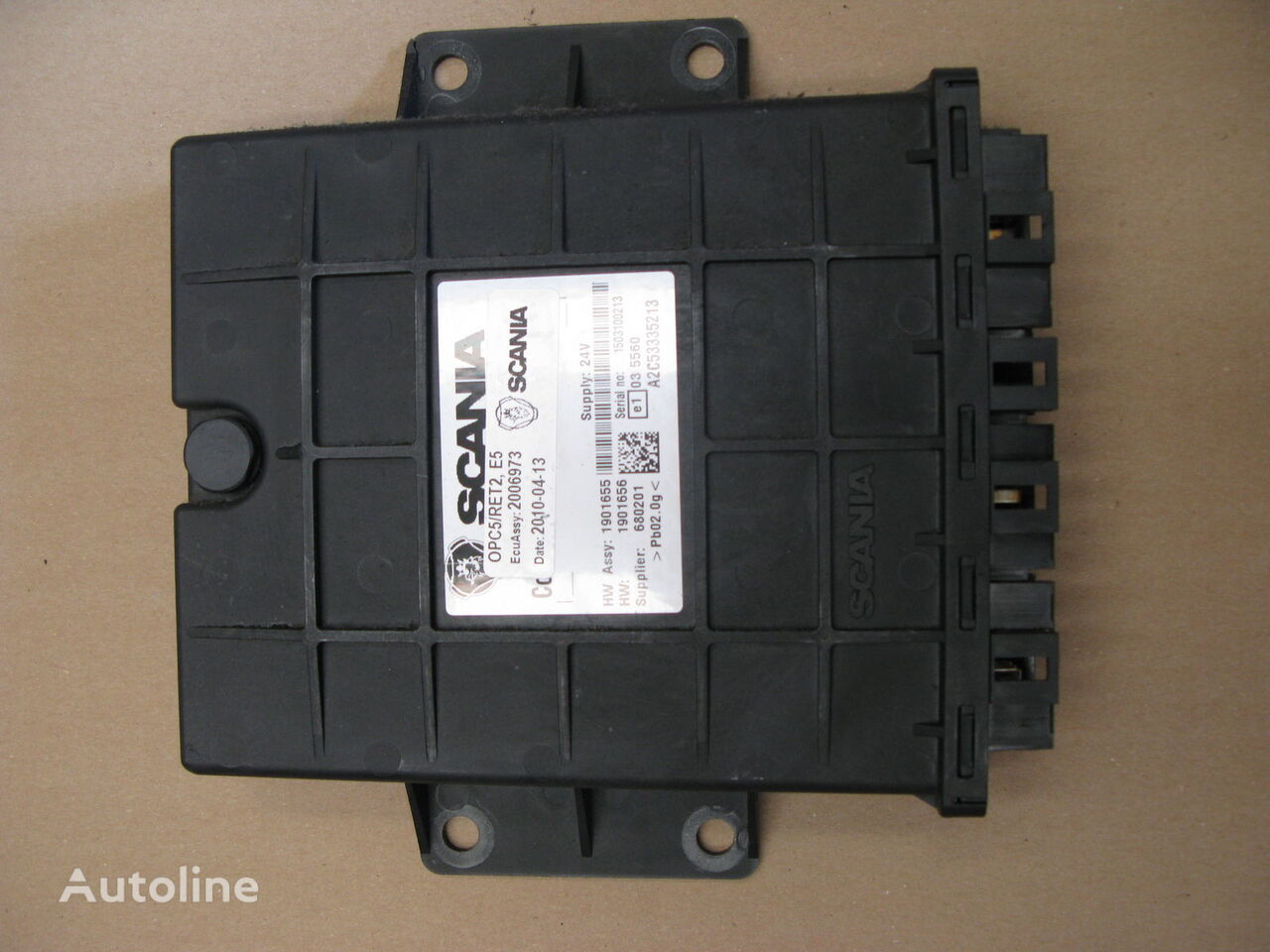 SCANIA STEROWNIK RETARDER (2006973) unidad de control para SCANIA R tractora