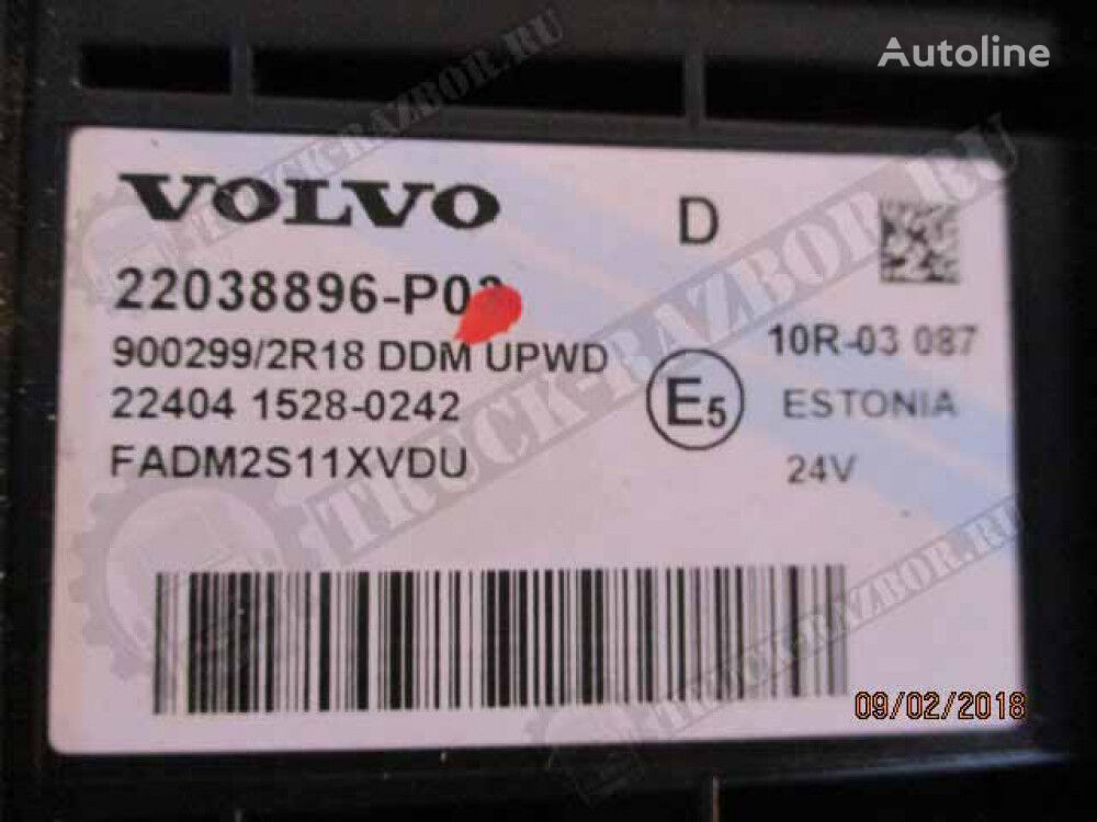 VOLVO (22038896) unidad de control para VOLVO tractora