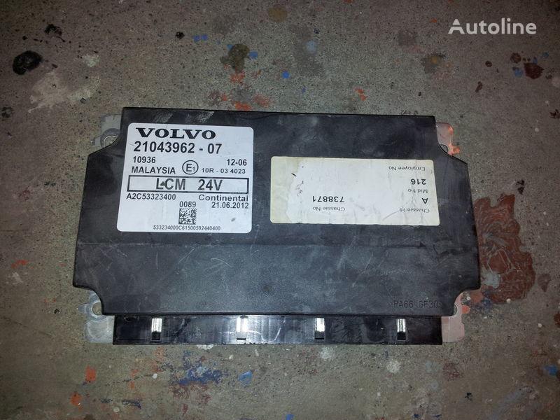 VOLVO LCM lightning control unit 21043962, 21043961, 85102471, 85 unidad de control para VOLVO FH13 tractora