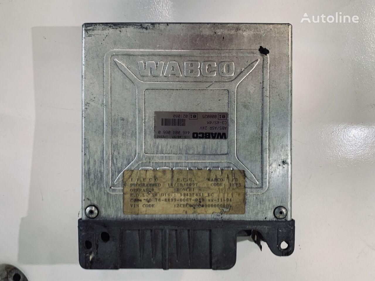 WABCO ABS/ASR (4460040660) unidad de control para VOLVO FM tractora