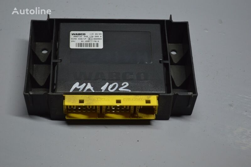 WABCO ECAS (81258117013) unidad de control para MAN TGA (2000-2008) camión