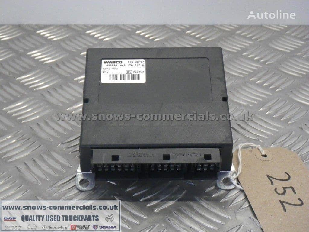 WABCO ECAS ECU (504103340) unidad de control para IVECO camión