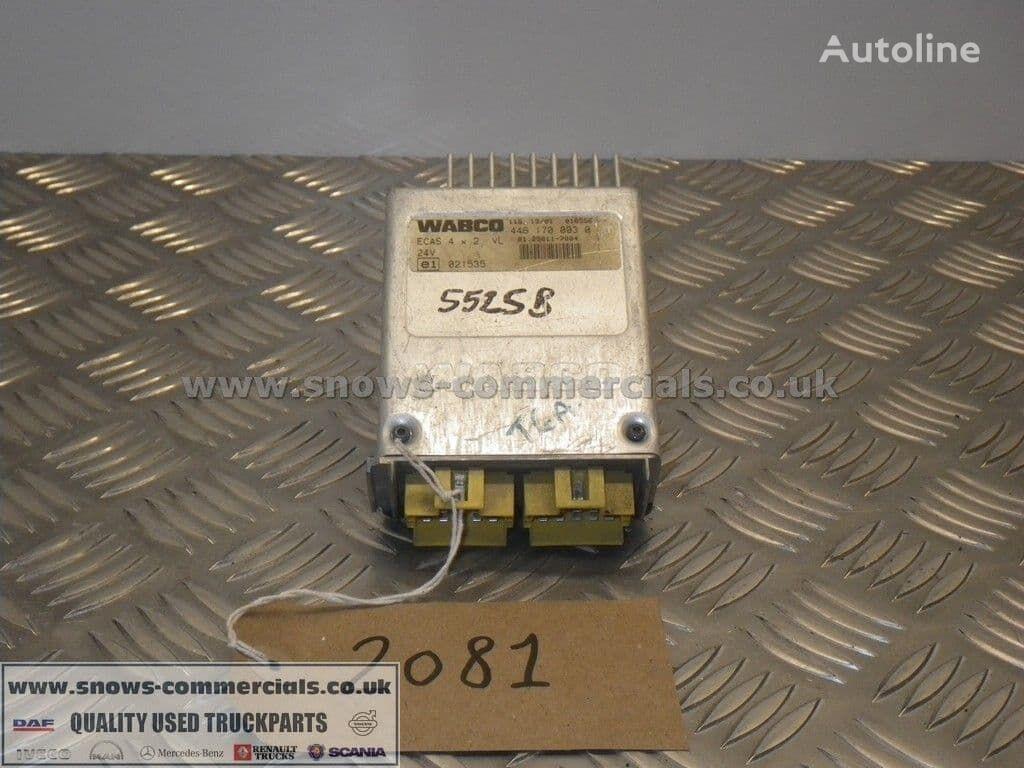WABCO ECAS ECU (81.25811-7004) unidad de control para MAN TGA camión