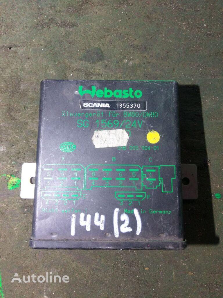 Webasto BW80/DW80 SG1569 1355370 unidad de control para SCANIA tractora