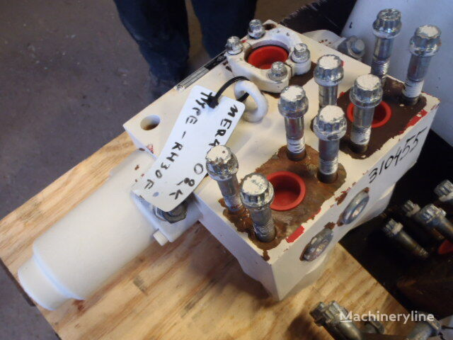 O&K 1903336 (50.199) válvula de motor para O&K RH30F excavadora