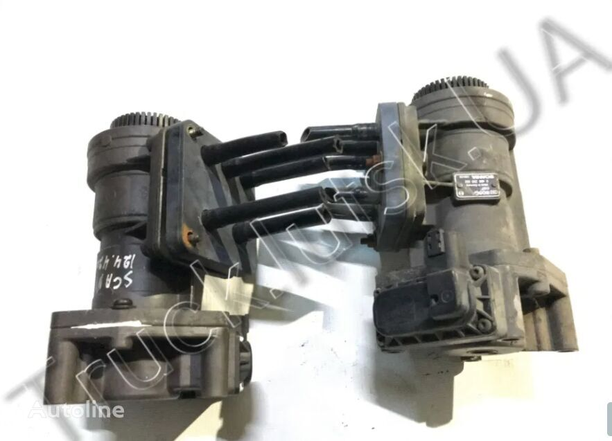 válvula del freno de mano para SCANIA 124 tractora