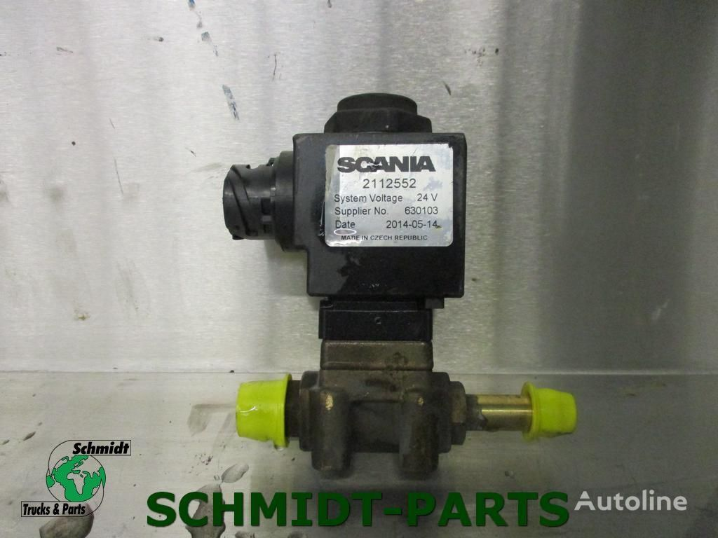 SCANIA Magneet Klep (2112552) válvula neumática para tractora