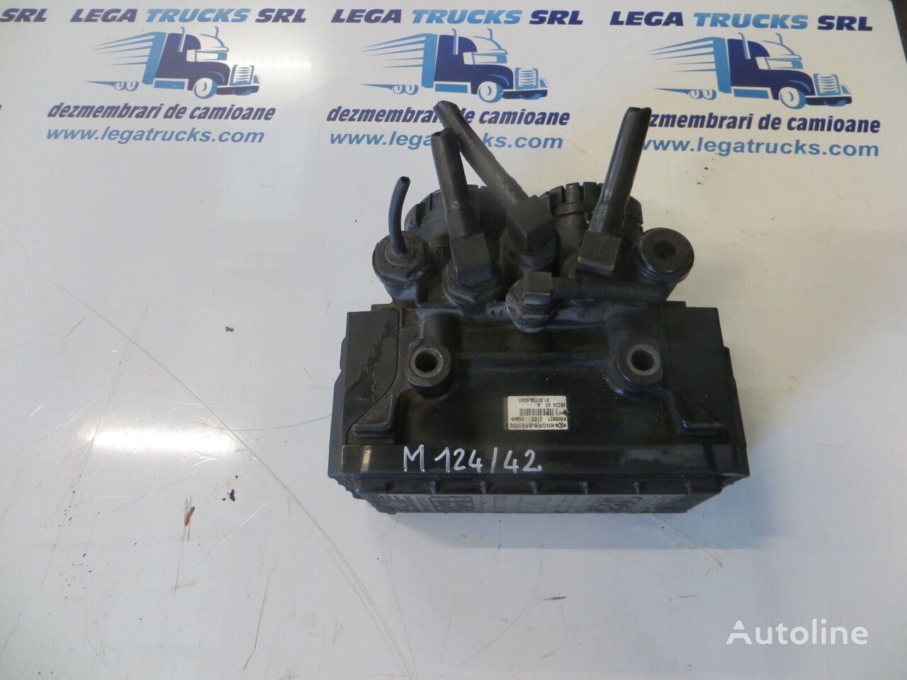 MAN 81521066042 / M124/42 (81521066042) válvula neumática para MAN TGA 430, 2006, euro 4  tractora